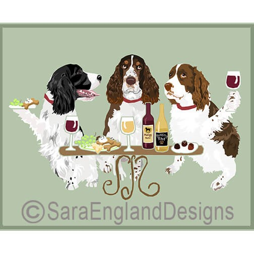 DOGS WINEING - Two Verisons
