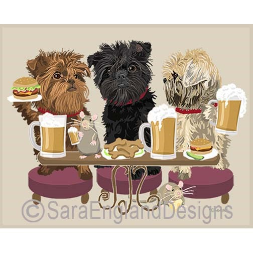 Cheers Affenpinscher Art