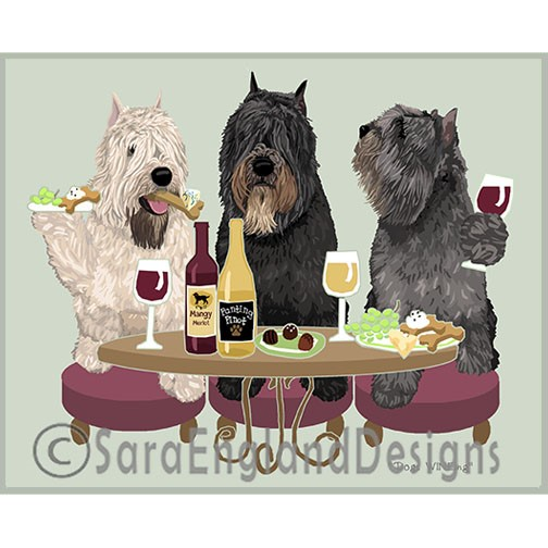 DOGS WINEING - Two Versions
