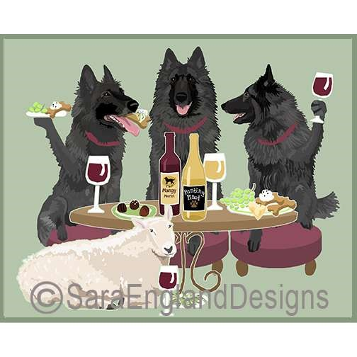 DOGS WINEING - Three Verisons