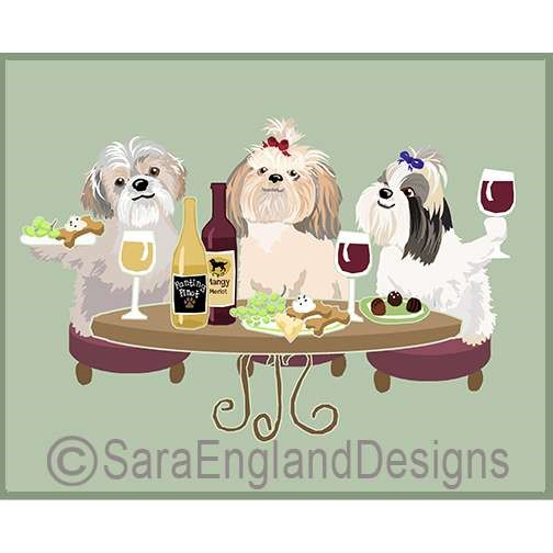 Dogs Wineing