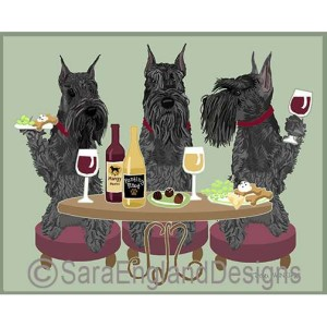 DOGS WINEING - Four Verisons
