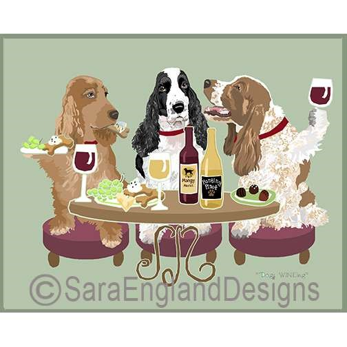 Dogs WINEing - Three Versions