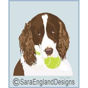 English Springer Spaniel Art – Dog Breed Prints & Home Decor Gift