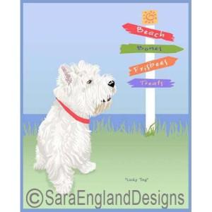 West Highland Terrier (Westie) Art – Dog Breed Prints & Home Decor